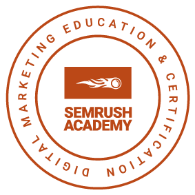 SEMrush Certified badge