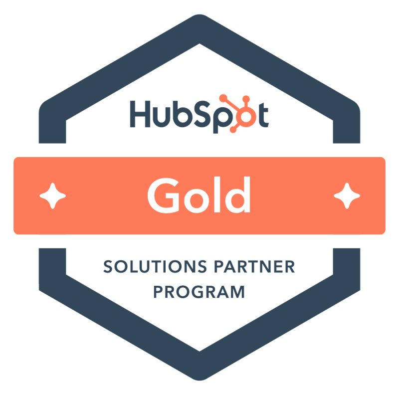 HubSpot Gold Partner Certified